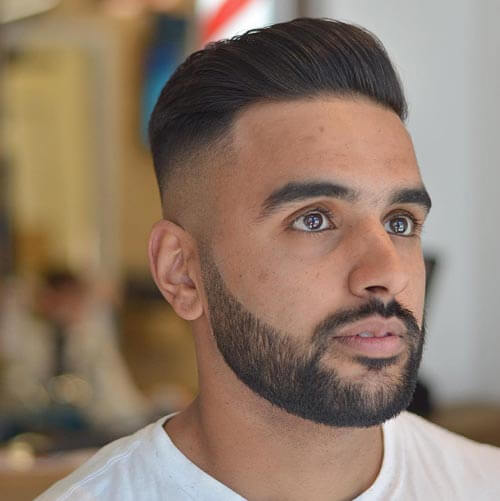 High Fade Pompadour - Short Hairstyles For Men