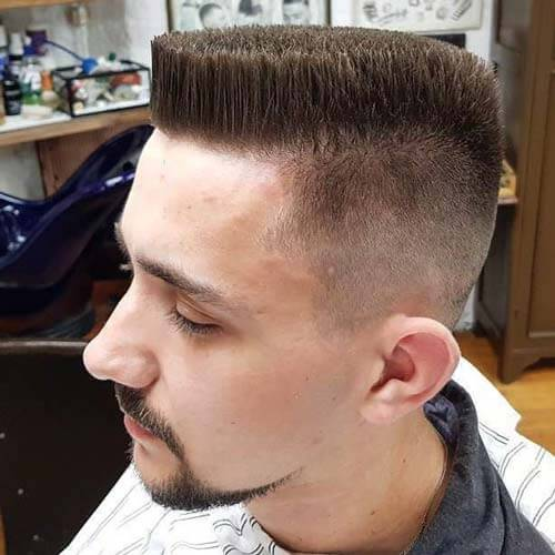 Solid & Neat Flat Top with Undercut