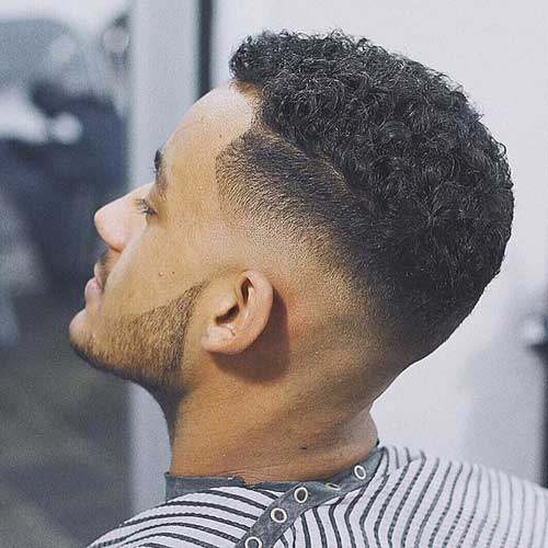 Curly Crew Cut - Short Hairstyles For Men