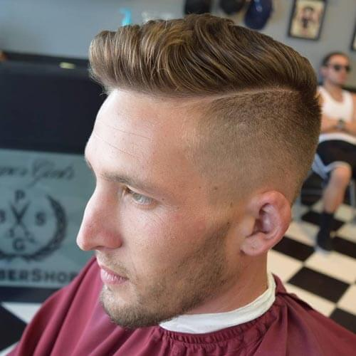 High and Tight With Taper Fade