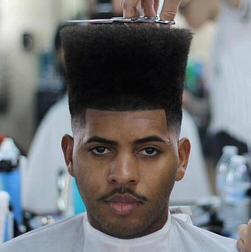 High Flat Top with Light Fade