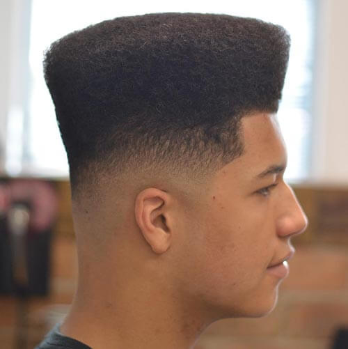 Wide High Top with Natural Curl