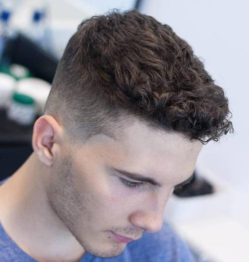 Short Curly Haircut - Short Hairstyles For Men