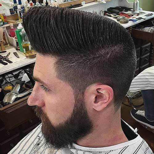 Edgy Flat Top with Undercut