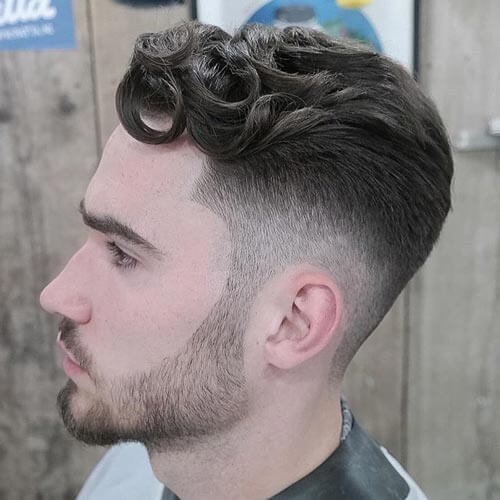 Long Curly Top - Short Hairstyles For Men