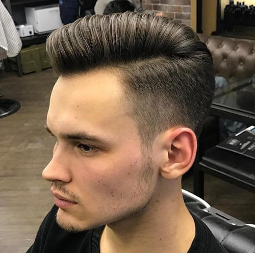 Quiff and Comb Over - Short Hairstyles For Men