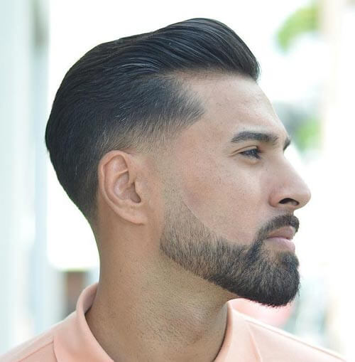 Pompadour With Taper Fade - Men's Short Hairstyles