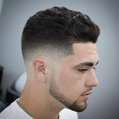 Quiff with Waves - Short Hairstyles For Men