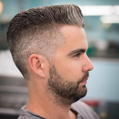 Mohawk Flat Top with Taper Fade