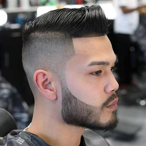 Stylish Comb Over - Short Haircut