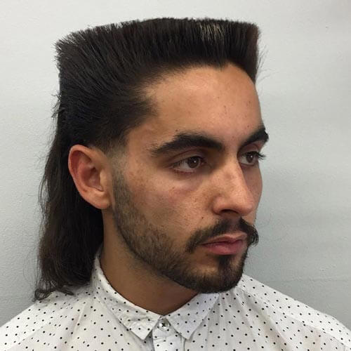 Loose Flat Top with Ponytail
