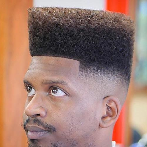 Classic Flat Top For Black Men