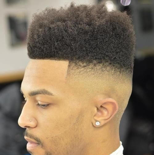 Straight Across and Curly High Top