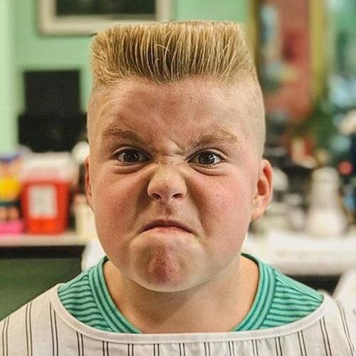 little boy haircuts - Classic Flat Top