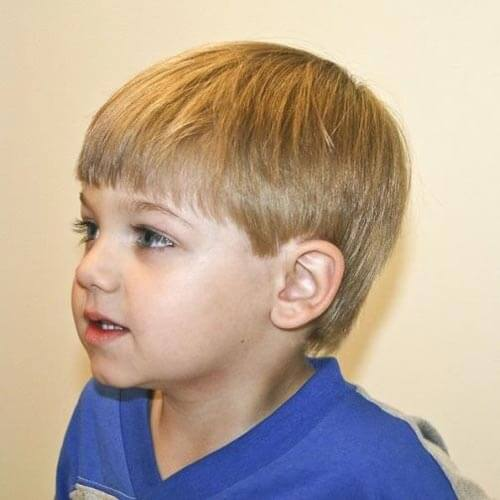 little boy haircuts - Full Long Fringe