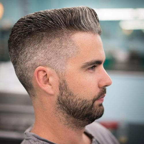 Modern Flat Top - High Top Fade Haircut