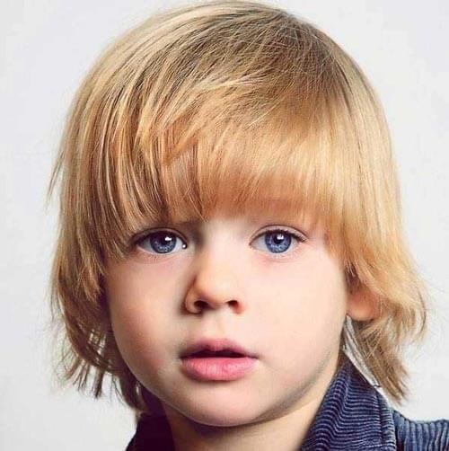 Toddler Boy Haircuts - Bob With Layered Cut