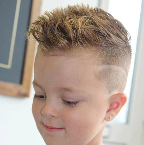 Cute Little Boy Haircuts - Wavy Cut