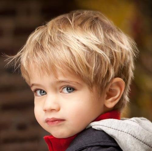 Haircut For Toddler Boys - Simple Bob Hairstyle