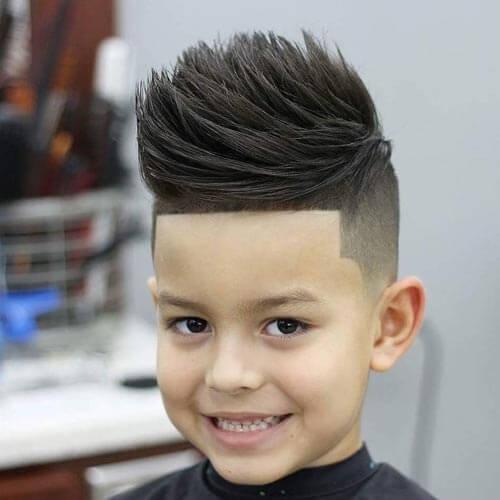 Cute Little Boy Haircuts - Sculpted Faux Hawk