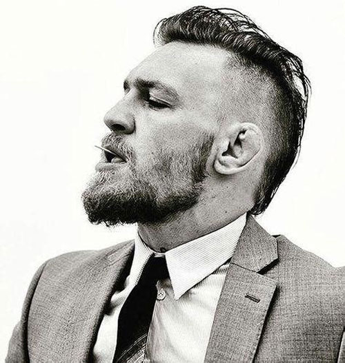 Mohawk Haircut - Conor McGregor Hairstyle