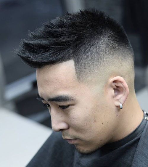 Sharp-Edged Faux Hawk
