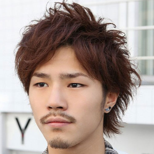 Asian Shag Hairstyle