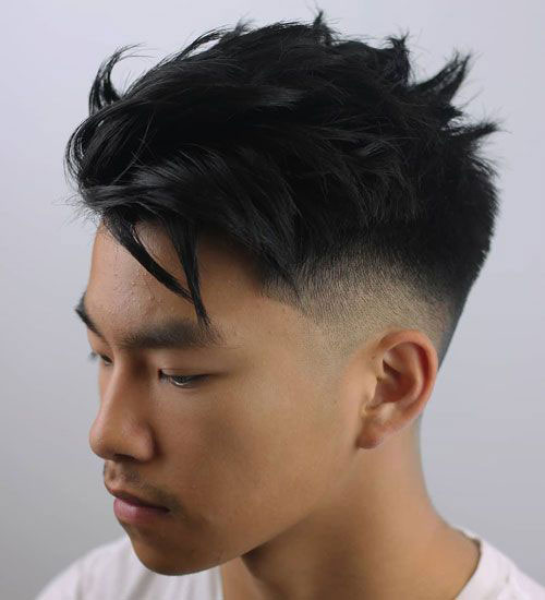 Korean Taper With Texture