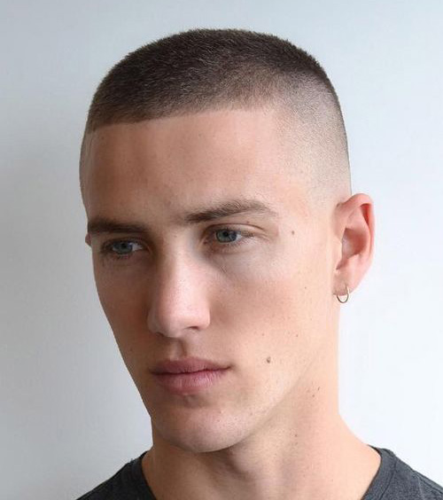 Simple Jarhead Haircut