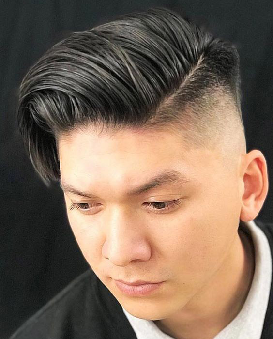 Long Side Swept Undercut