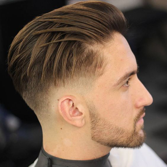 Criss-Cross Side Swept Undercut