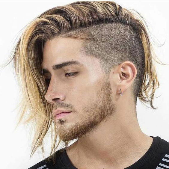 Long Hair with Undercut