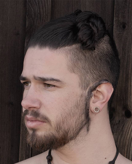 Sleek Side Bun - Viking Hairstyles