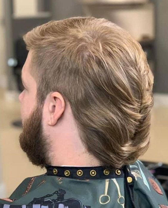 The Beaver Paddle Mullet