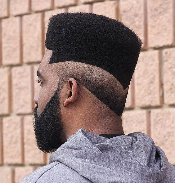 Flat Top with Angular Reverse Fade