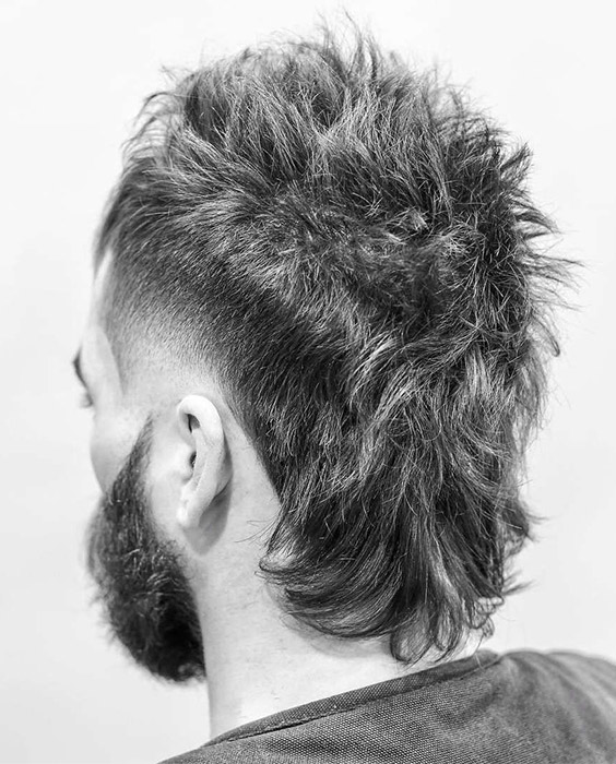 Textured Mullet with Fade