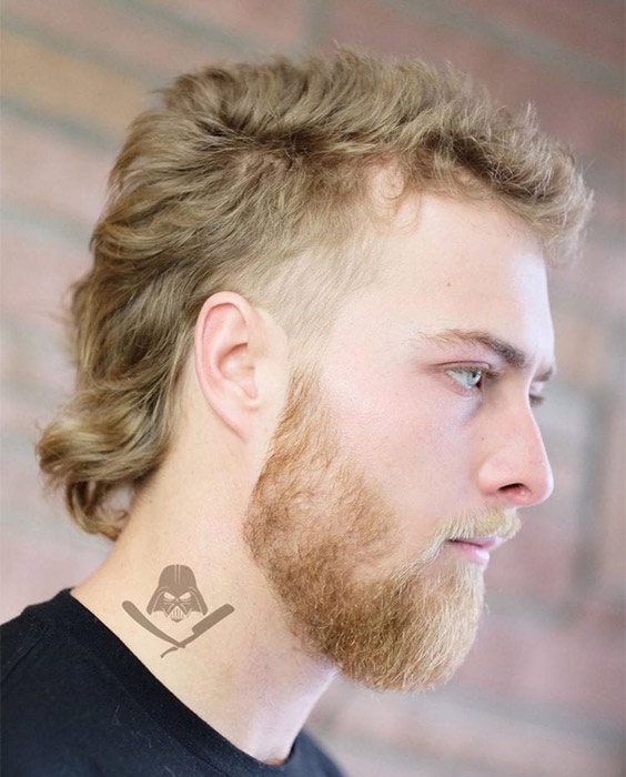 Mullet with Low-key Waves
