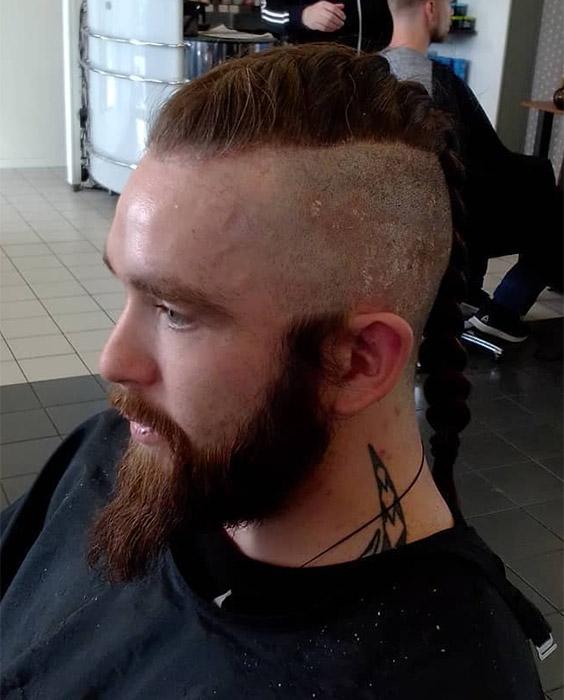Faux Hawk French Braid