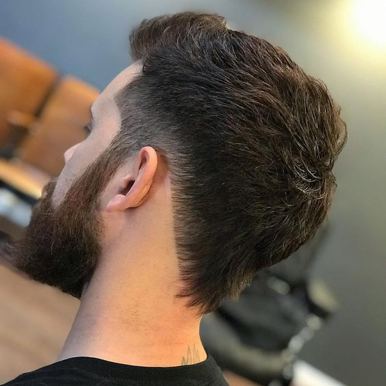 Mullet Haircut with Undercut