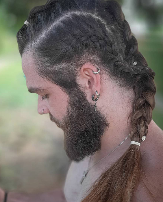 Braided Sides and Top