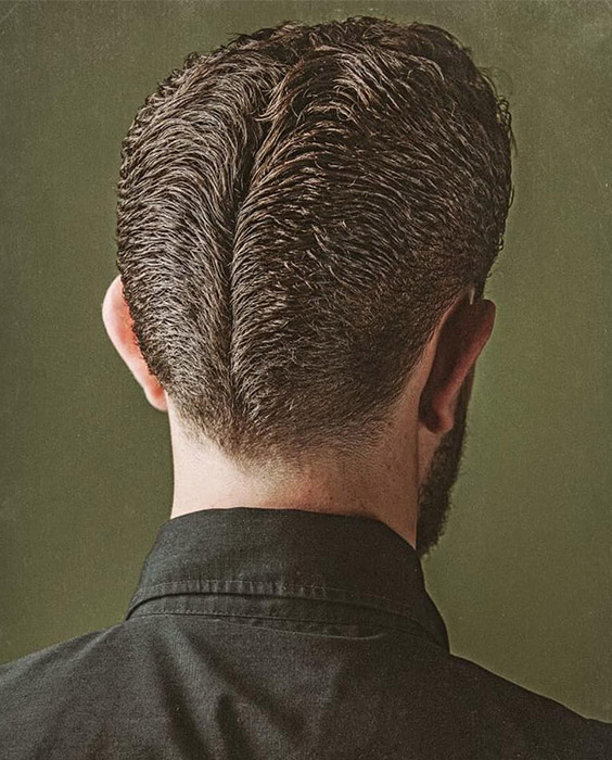 Fine Hair Ducktail Haircut