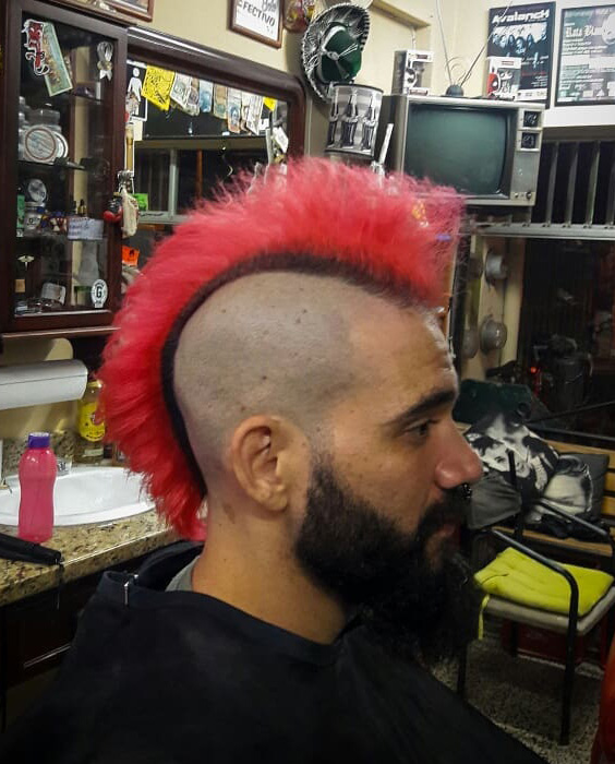 Airy Punk Mohawk