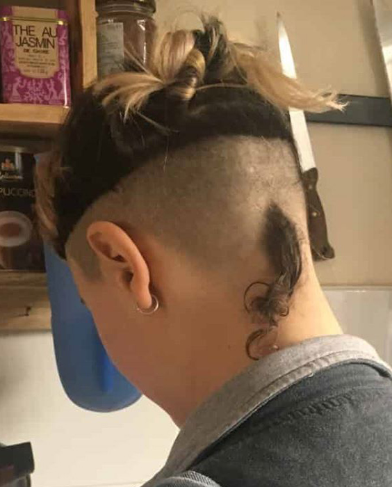 Bowl Cut with Loose Rat Tail
