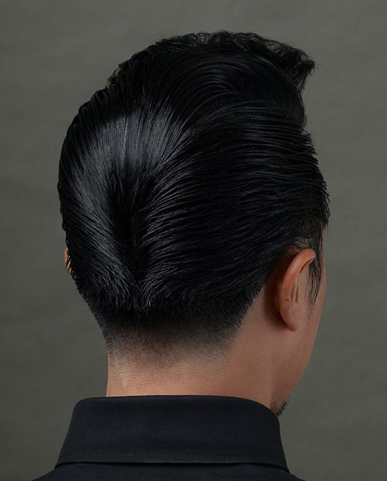 Elvis Presley Inspired Ducktail Haircut