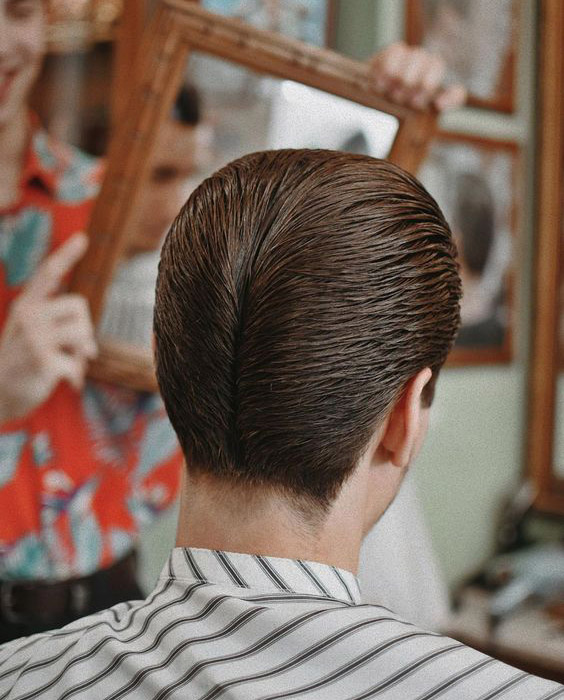 Layered Ducktail Haircut