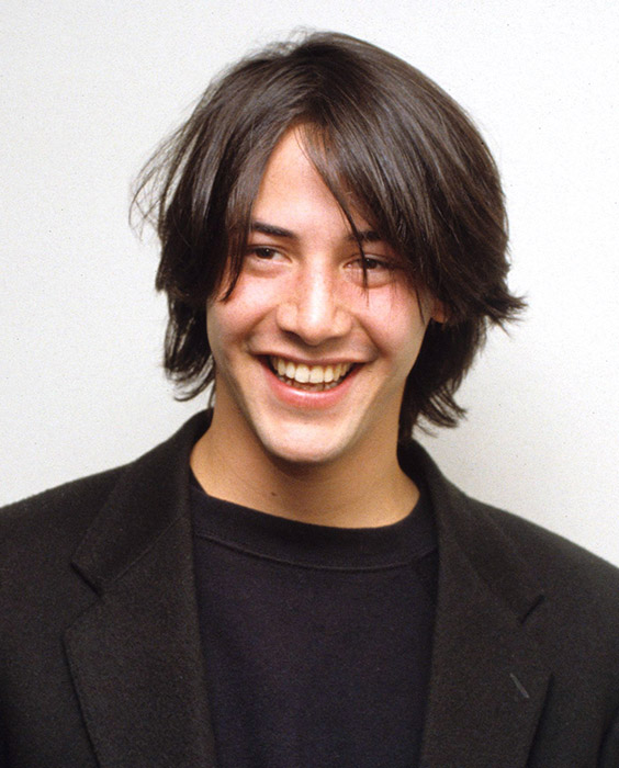 Keanu Reeves Eboy Haircut