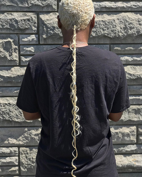 Long Braided Tail