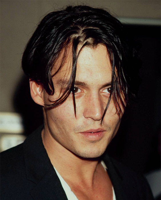 Johnny Depp Eboy Haircut
