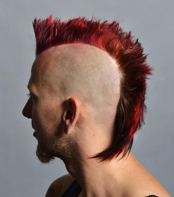 Dragon-Inspired Mohawk