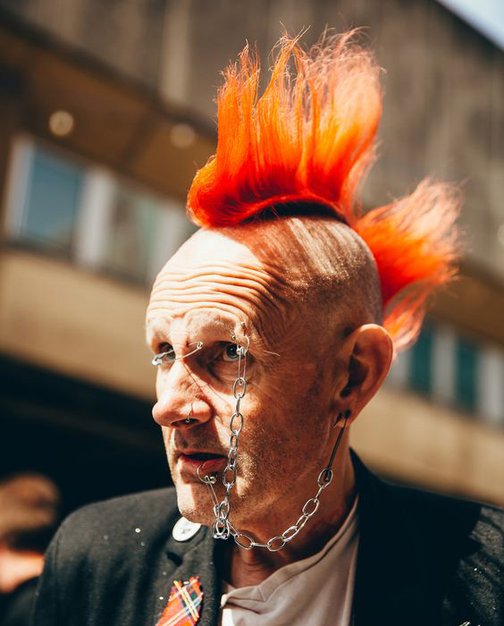 Two-Park Punk Mohawk